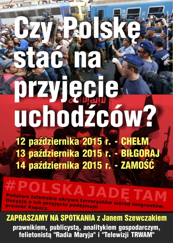 plakat_a3_uchodzcy_KGP_Bilgoraj